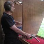 We got to fire a .44 magnum revolver!