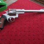 A big handgun...