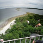 The view from the lighthouse.