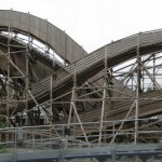 Quick panorama of Balder. Queuing was slow, so there was time for it!