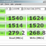 The stats of the 4.7GB software RAM disk!