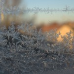 How much can you write about ice on a window?