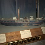 A model of the ship they are replicating.