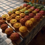 I made cupcakes. Colorized.