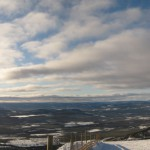I could not help making a separate panorama of a portion of the sky, as it looked fabulous.